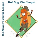 Mayors Cactus League Hot Dog Challenge this Saturday May 11th!