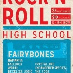 RRHS Bands Rock Crescent Ballroom with Guest Fairy Bones!