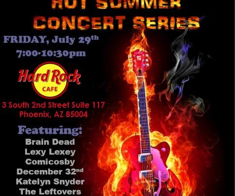 Hard Rock Cafe Show July 29th!
