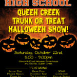 Queen Creek Trunk or Treat Halloween Show