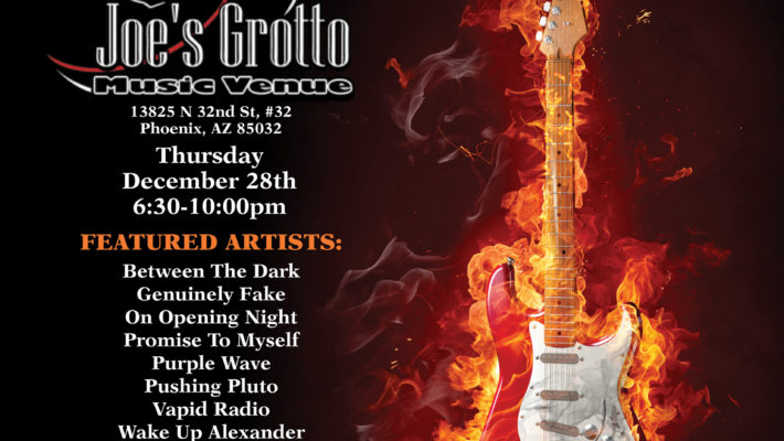 Joe's Grotto End of Year Show